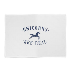Florent Bodart Unicorns Are Real Cotton Tea Towel