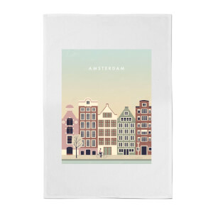 PlanetA444 Amsterdam Cotton Tea Towel