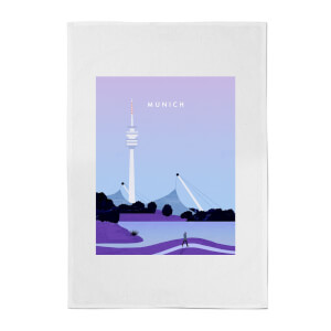 PlanetA444 Munich Cotton Tea Towel
