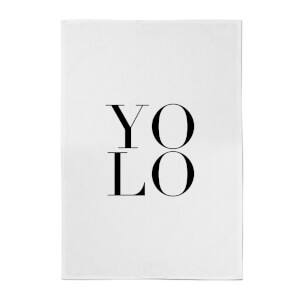 PlanetA444 YOLO Cotton Tea Towel