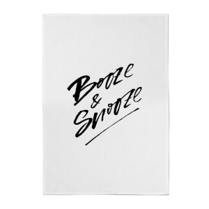 PlanetA444 Booze & Snooze Cotton Tea Towel