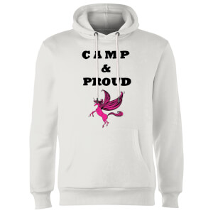 Rock On Ruby Camp & Proud Hoodie - White