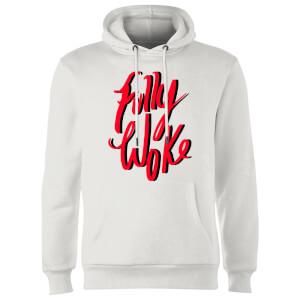 Rock On Ruby Fully Woke Hoodie - White