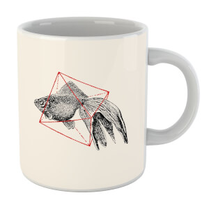 Florent Bodart Fish In Geometry Mug