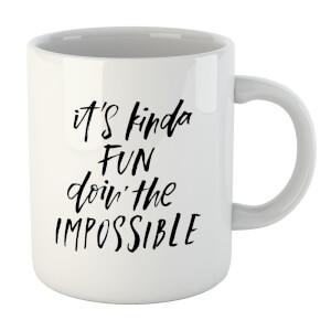 It's Kinda Fun Doin' The Impossible Mug