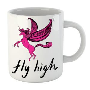 Rock On Ruby Fly High Mug