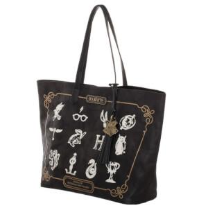 Harry Potter Back To Hogwarts Tote Bag - Black