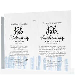 Bumble and bumble Thickening Shampoo and Conditioner 14ml (Free Gift)