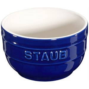 Staub Ceramic Round Ramekins - Dark Blue