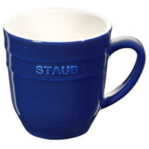 Staub Ceramic Round Mug 350ml - Dark Blue