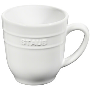 Staub Ceramic Round Mug 350ml - White