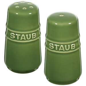 Staub Ceramic Round Salt and Pepper Shaker - Basil