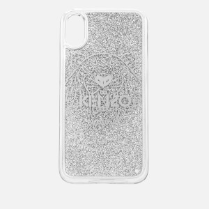 KENZO Women's Tiger iPhone X Case - Silver