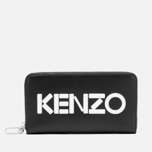 KENZO Women's Zipped Continental Wallet - Black