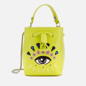 KENZO Women's Mini Bucket Bag - Lemon