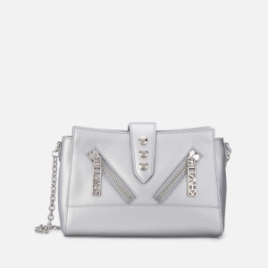 KENZO Women's Kalifornia  Mini Shoulder Bag - Silver