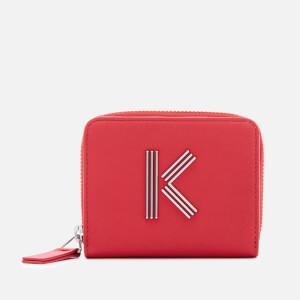 KENZO Women's Squared Wallet - Medium Red