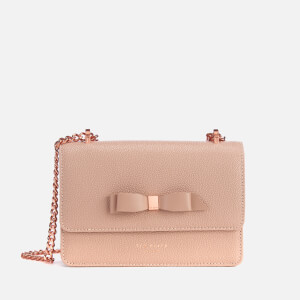 1ebdf00a5319 Ted Baker Women s Jayllaa Bow Detail Micro Cross Body Bag - Taupe