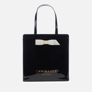 Ted Baker Women's Almacon Bow Detail Large Icon Bag - Black