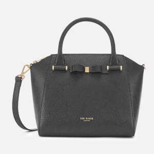 Ted Baker Women's Janne Bow Detail Zip Tote Bag - Black