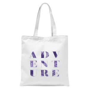 PlanetA444 ADVENTURE Tote Bag - White