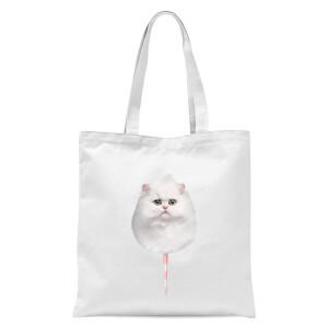 Jonas Loose Caticorn Tote Bag - White