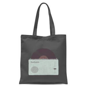 Florent Bodart High Fidelity Tote Bag - Grey