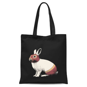 Florent Bodart Lapin Catcheur Tote Bag - Black