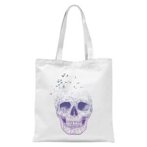 Balazs Solti Lost Mind Tote Bag - White
