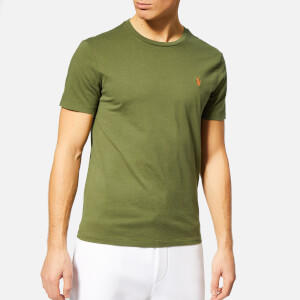 Polo Ralph Lauren Men's Custom Slim Fit Crew Neck T-Shirt - Supply Olive