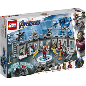 LEGO® Marvel: Sala delle Armature di Iron Man (76125)