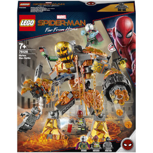 LEGO Marvel Spider-Man Molten Man Battle Toy (76128)