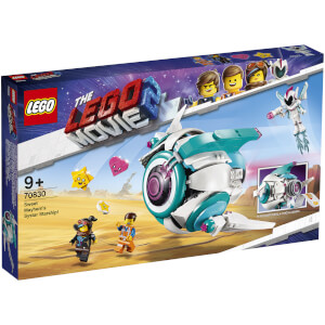 LEGO® THE LEGO® MOVIE 2™: Le vaisseau spatial Systar de Sweet Mayhem ! (70830)