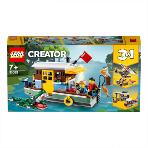 LEGO Creator: 3in1 Riverside Houseboat Building Set (31093)