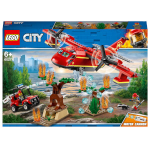 LEGO® City: L'avion des pompiers (60217)
