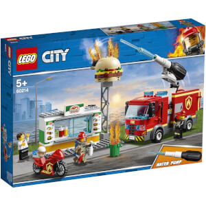 LEGO City Fire: Burger Bar Fire Rescue (60214)