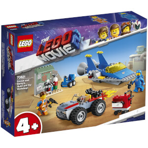 LEGO Movie: Emmets und Bennys Bau- und Reparaturwerkstatt! (70821)