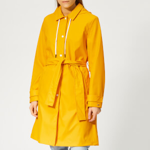 Tommy Hilfiger Women's Britt Hooded Trench Coat - Yellow