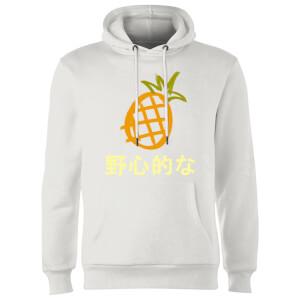 Benji Pineapple Hoodie - White