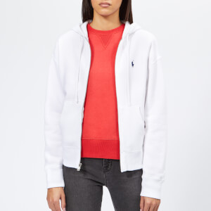 Polo Ralph Lauren Women's Full Zip Hoodie - White
