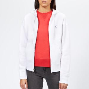Polo Ralph Lauren Women's Full Zip Hoodie - White