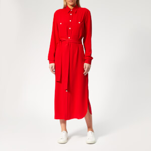 Polo Ralph Lauren Women's Shirt Dress - Red