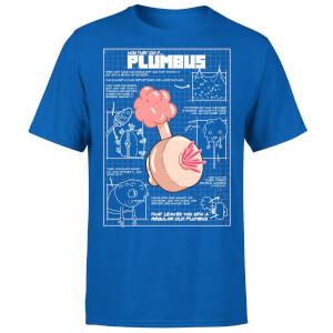 T-Shirt Homme Plumbus Rick et Morty - Bleu Roi