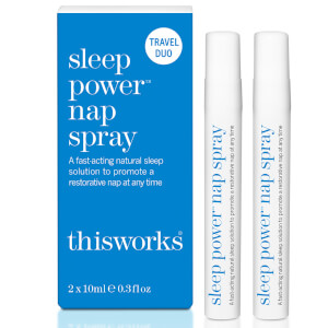 this works Sleep Power Nap Spray Duo Set 2 x 10ml