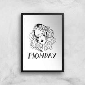 Rock On Ruby Monday. Art Print