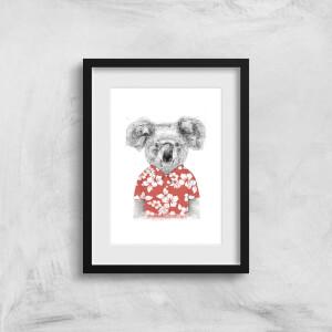 Balazs Solti Koala Bear Art Print
