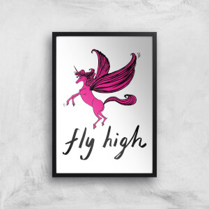 Rock On Ruby Fly High Art Print