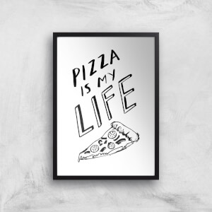 Rock On Ruby Pizza Is My Life Art Print