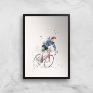 Balazs Solti Cycler Art Print