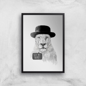 Balazs Solti Say My Name Art Print